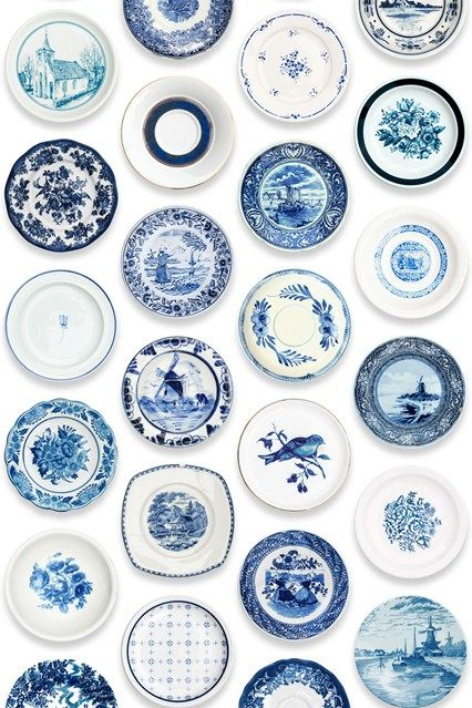 Porcelain Plates Porcelain Blue Blue And White China Blue Wallpapers