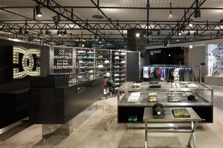 DC SHOE Flagship Store Design In Japan