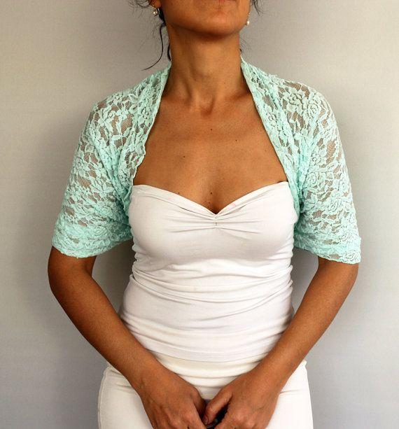 Bridal Shawl, Lace Bridal Shrug, Wrap Bolero Wedding Cover up Plus ...