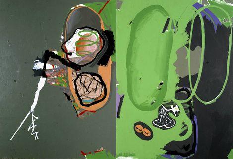 luis Gordillo, Almas de insectos, 1984 on ArtStack #luis-gordillo #museumweek