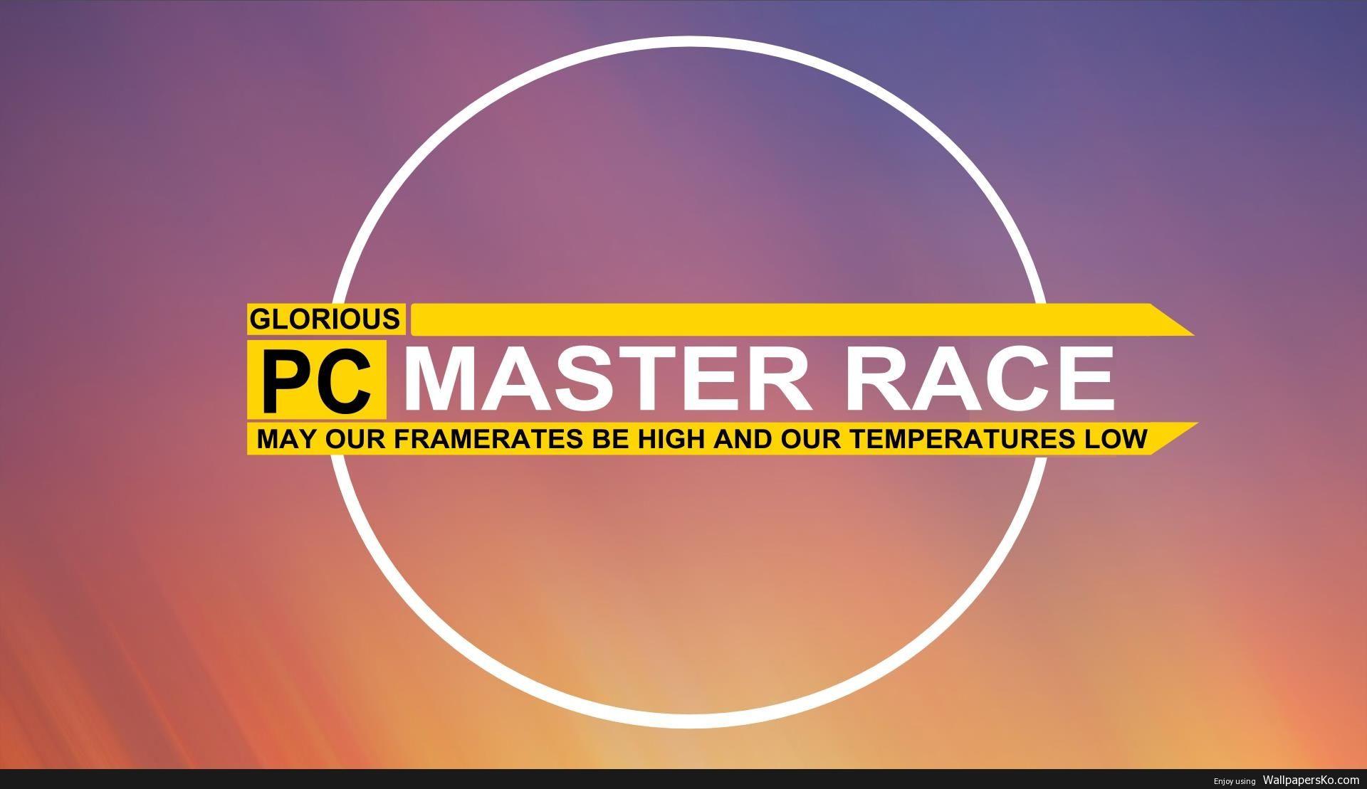 Pcmasterrace Wallpaper Http Wallpapersko Com Pcmasterrace