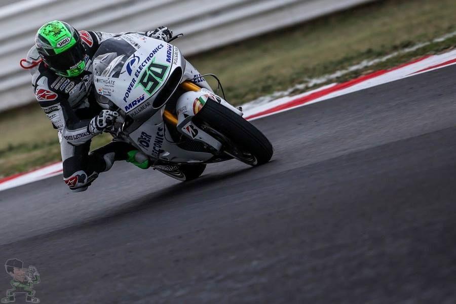 Eugene Laverty Motogp San Marino GP 2015, Misano.