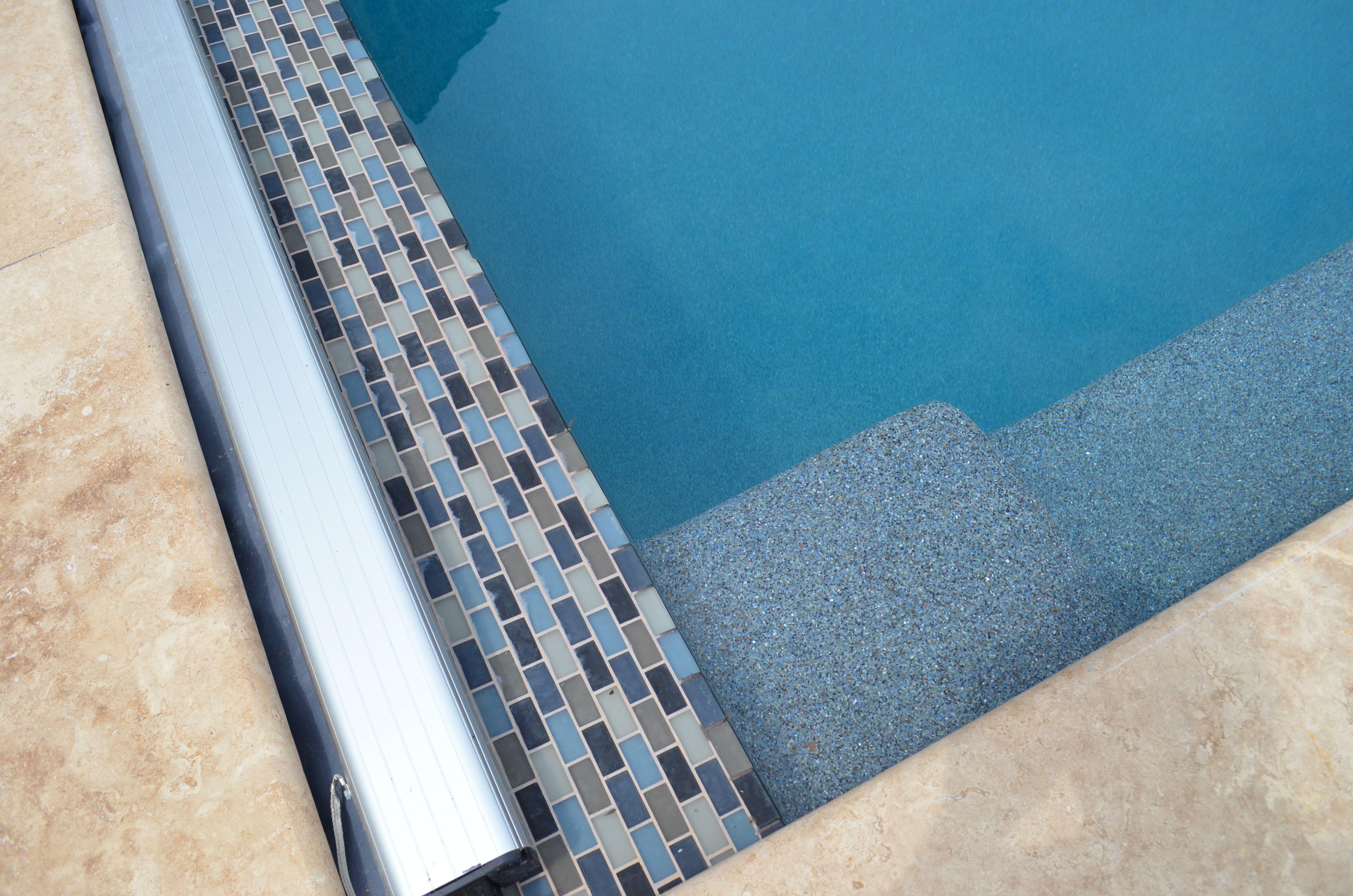 Tile Clic Pool S Ct Gl 5002f Slate Interior Finish Pebble Sheen Prism Blue