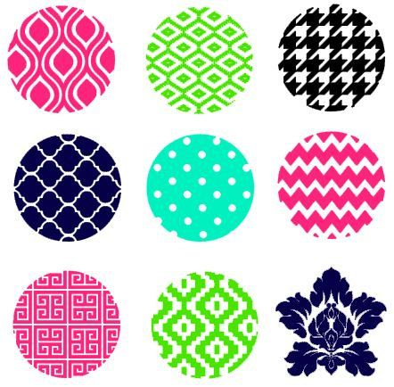 Round Circle Background Patterns instant download cut file