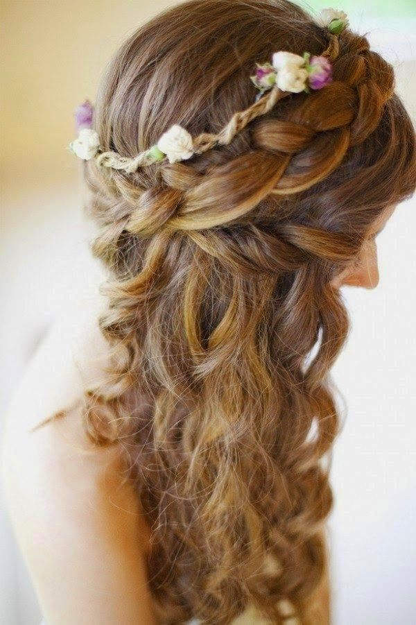 Beautiful Medieval Inspired Hairstyle <3