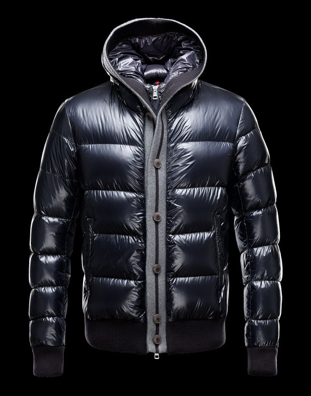Moncler Cesar Hooded Down Jacket Men Blue  245   Moncler   Pinterest ... 0b0b9c4efb9