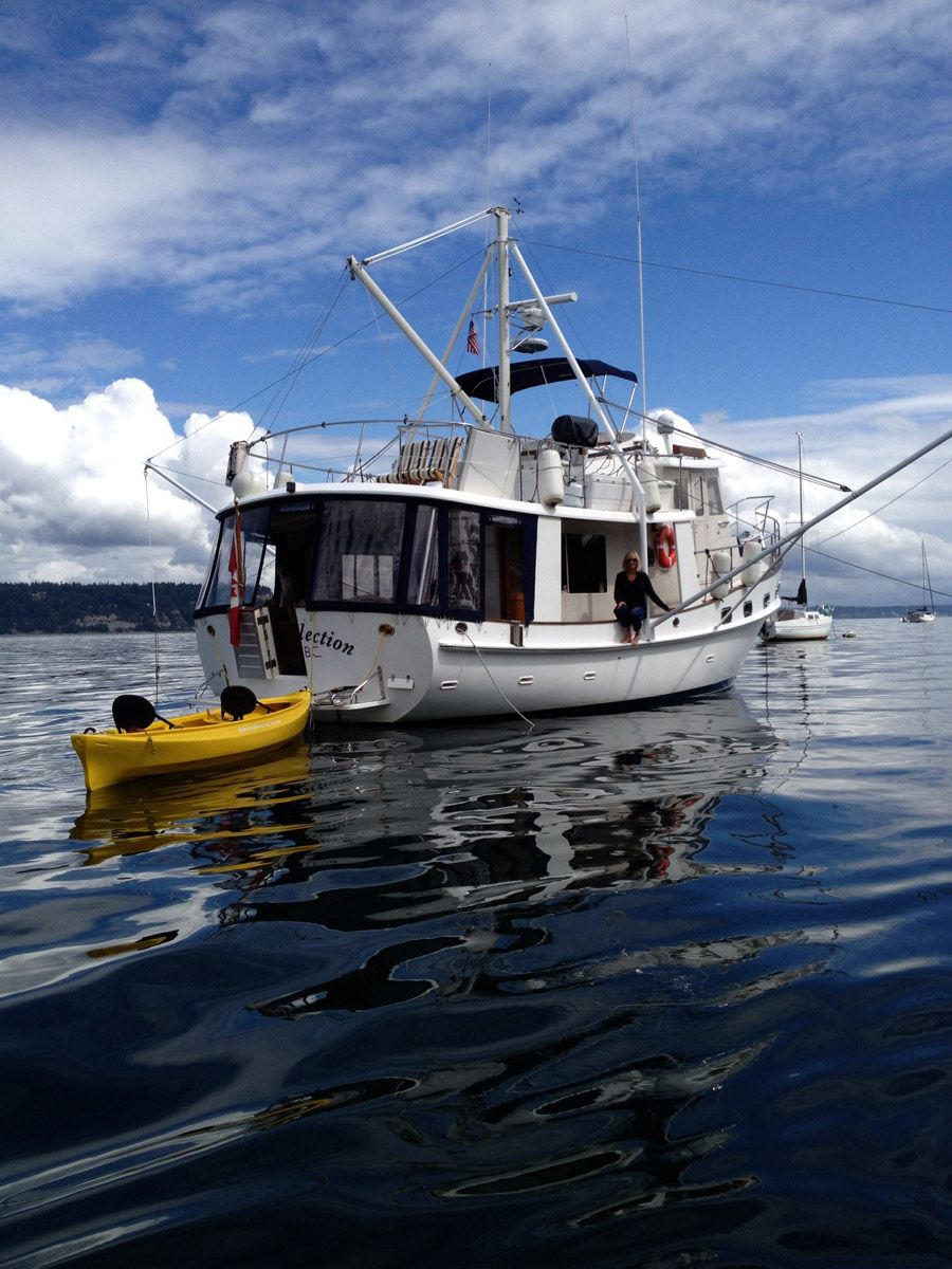 Natural Selection Boat Liveaboard Boats Tiny House Swoon