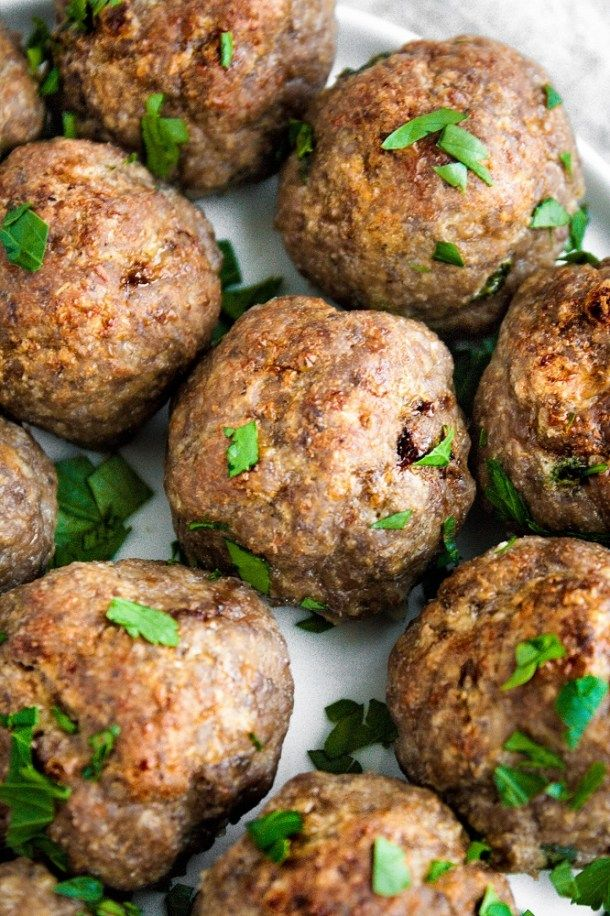 These Keto Meatballs are a delicious and ultra low-carb ...