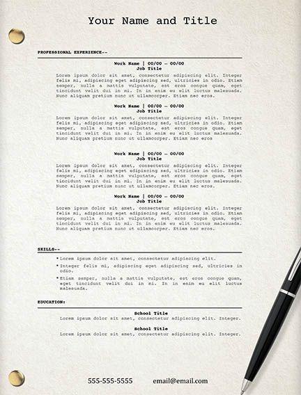 movie script resume template edit easily in word httpssellfycompdsm0qddlc resume resumetemplate resumetemplates resumeideas