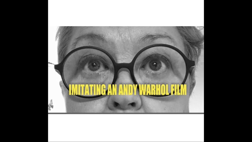 IMITATING AN ANDY WARHOL FILM - YouTube #andywarhol IMITATING AN ANDY WARHOL FILM - YouTube #andywarhol