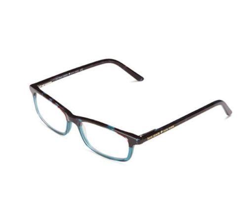 d17e1b3eaab23 KATE-SPADE-NEW-YORK-Women-039-s-Rectangular-Reading-Glasses -2-0-SKY-BLUE-TORTOISE