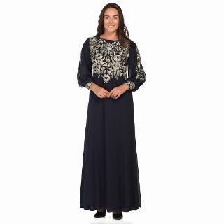 Arikan Concept Buyuk Beden Abiye Elbise 2753 Lacivert N11 Com Elbise Elbise Modelleri Maksi Elbiseler