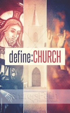 Define Church Bulletin Template Sharefaith Jesus Steeple