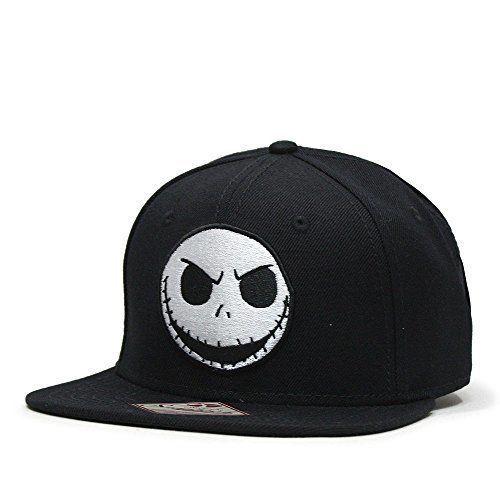 22fb01229d1 Disney Nightmare Before Christmas Jack Black Snapback Hat   NightmareBeforeChristmas  BaseballCap