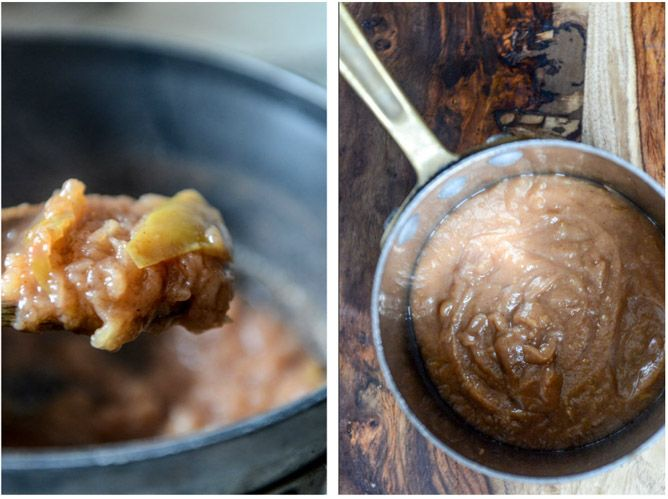 How To Make Easy Stovetop Apple Butter (and apple butter milkshakes!) I howsweeteats.com