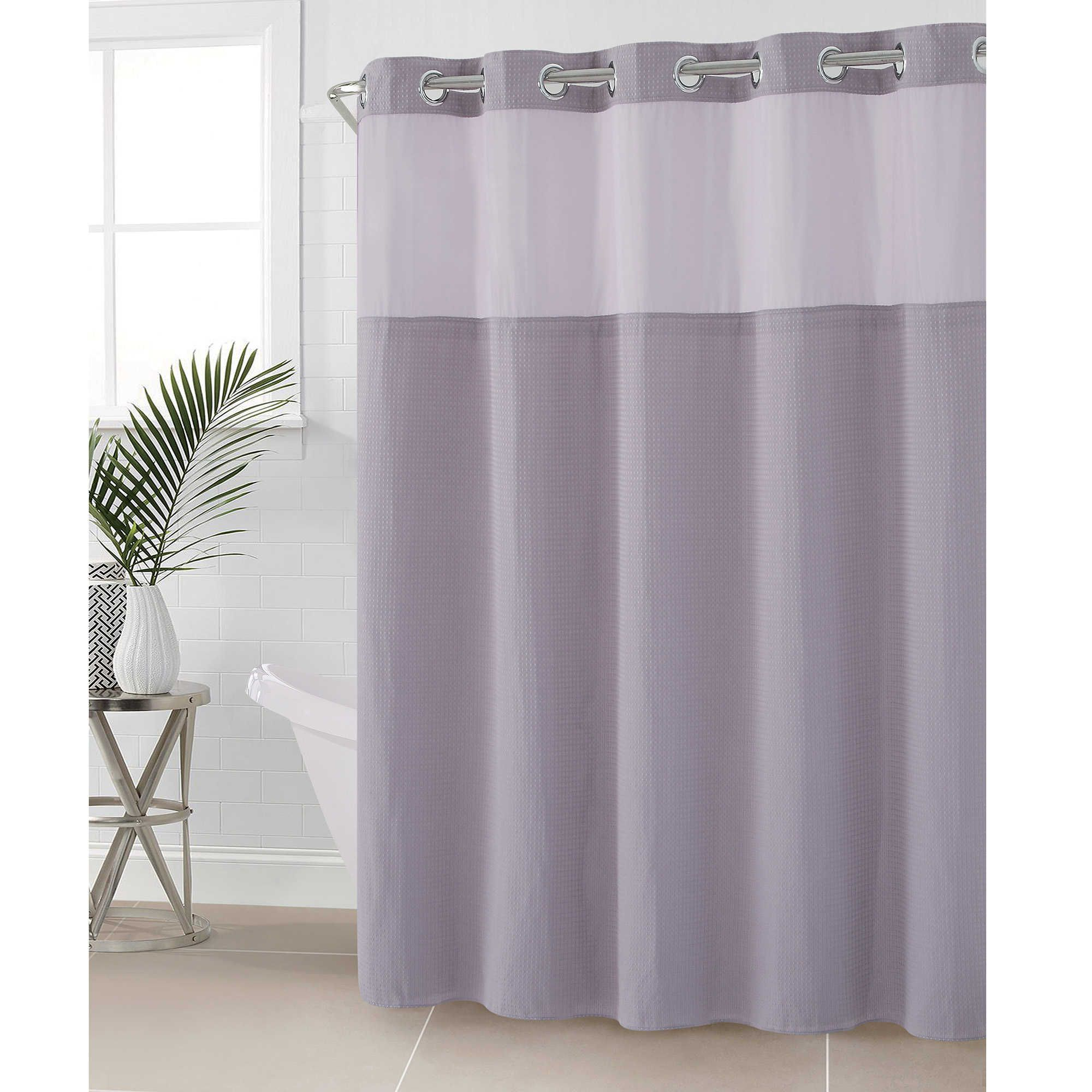 Pdp Main Image In 2019 Fabric Shower Curtains Hookless Shower