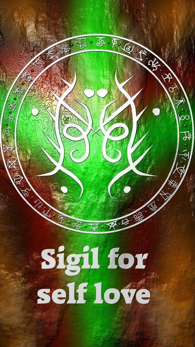 Sigil For Self Love Sigils Pinterest Symbols Magick And Witches