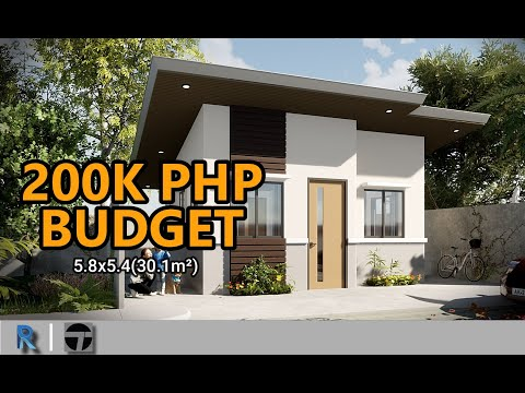 1 Small House Design 200k Budget Youtube Small House Design Plans House Budgeting Small House Design