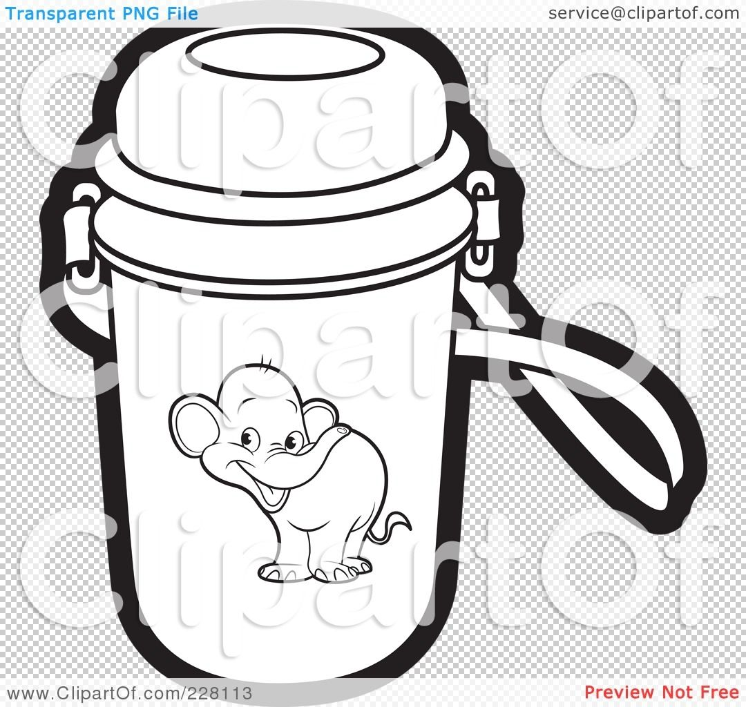 Water Bottle Coloring Pages Download