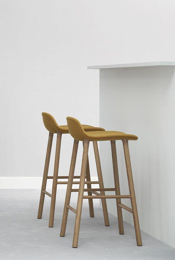 Normann Copenhagen - Form - stool - barstool - upholstered ... - photo#28