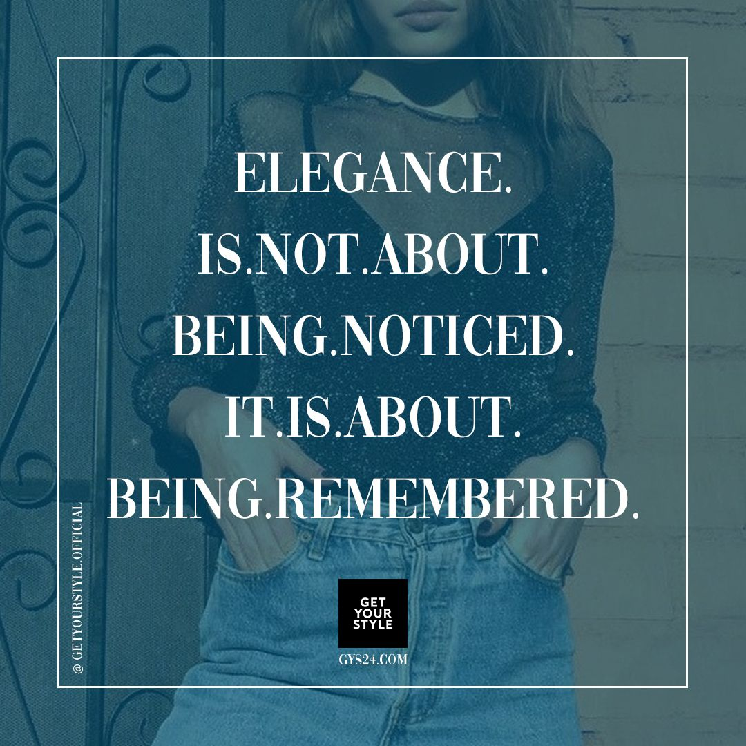 quotes about elegance