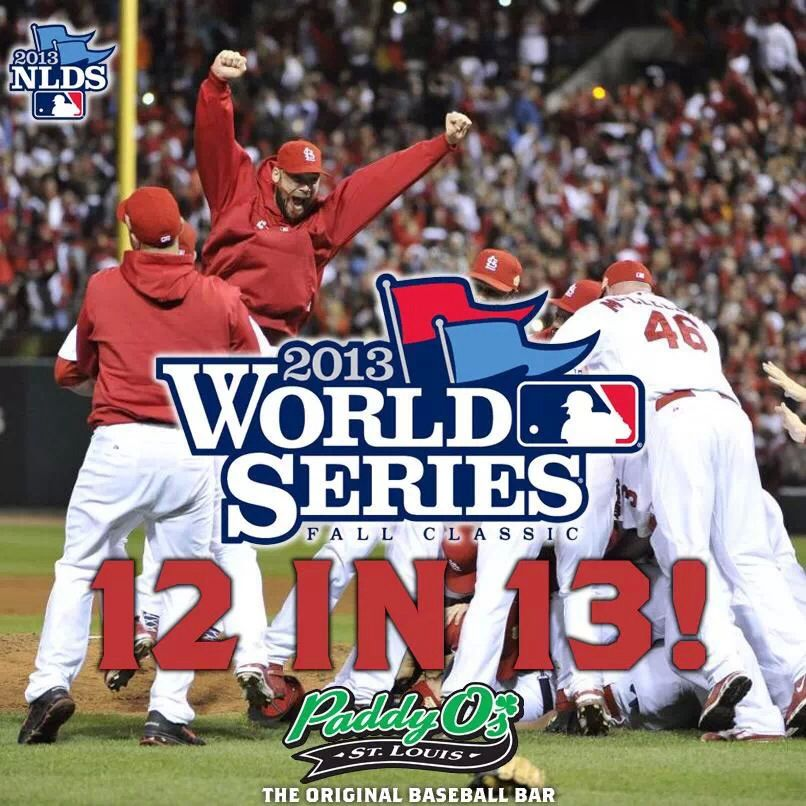 Here we come 12in13 2013 world series, Sports, World series