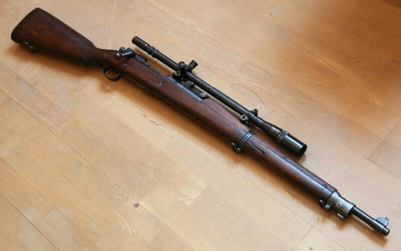 USMC Springfield M1903A1 Rifle with Unertl 8x scope  The  30