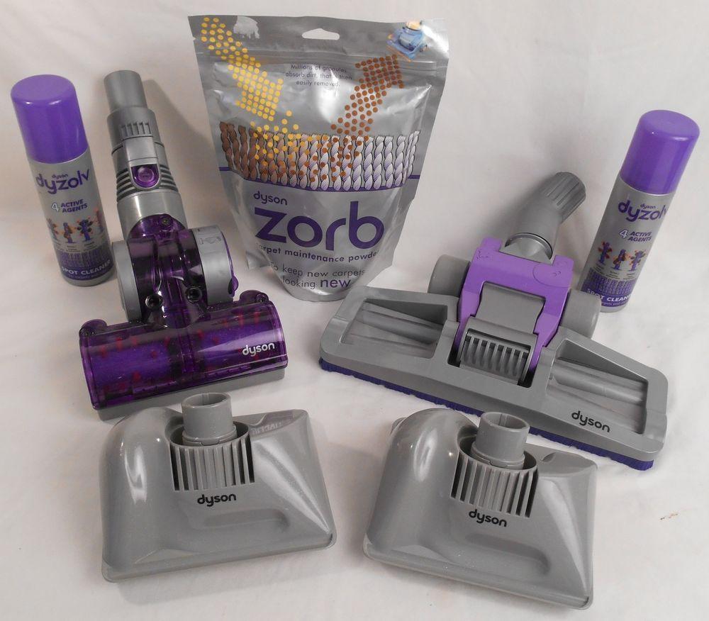 Dyson Dc07 Dc14 Attachments Plus Zorb Carpet Cleaner And Spot Remover Dyson Carpet Cleaners Dyson Vacuum