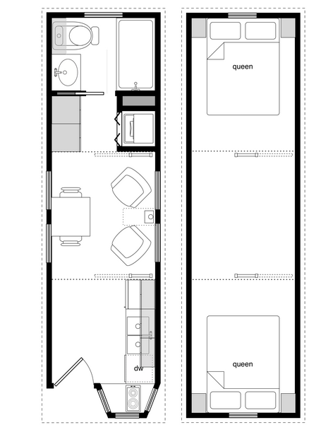 tiny houses on wheels plans for floor nice and simple design this