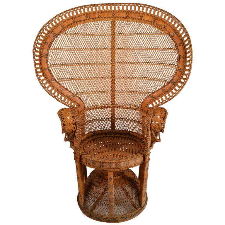 Captivating Rattan Peacock Chair