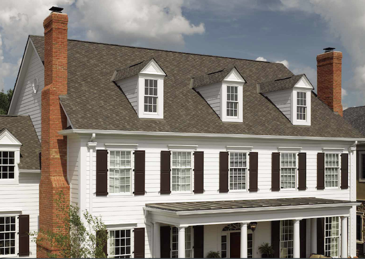 The Power And Prestige Of Presidential Shake In Weathered Wood Is A Stately Expression Of Superior Performance Roofing Roof Design Roofing Options
