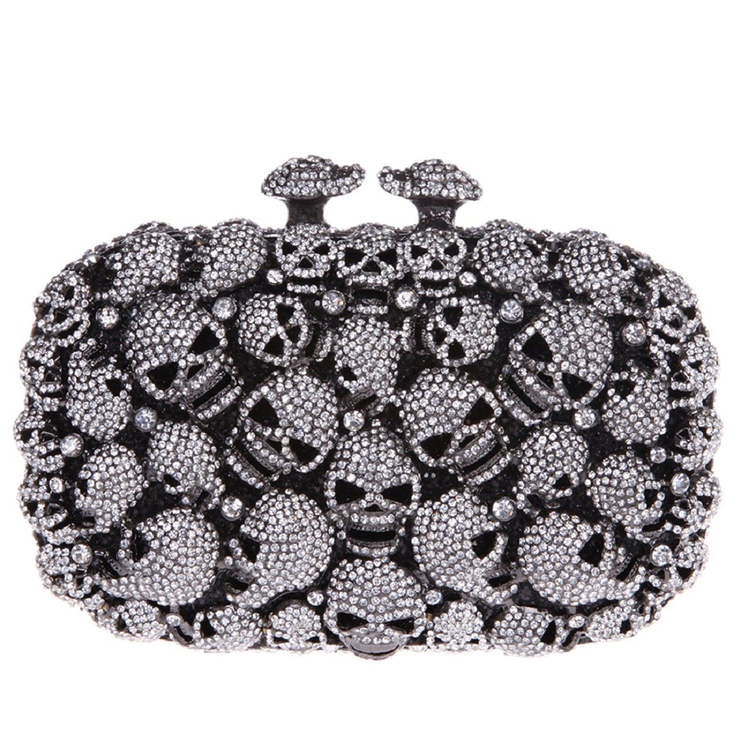 44f53956ab Skull Evening Bags And Clutches For Women Rhinestone Party Clutch Purses --  Awesome product. Click the image - amazon affiliated pin