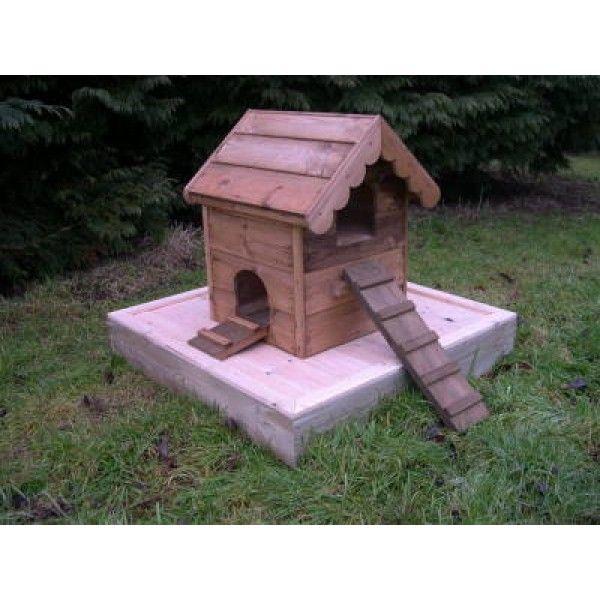 Nesting Wild Mallards In My Backyard Pool: Floating Duck Houses & Duck Platforms, Duck Houses, Garden
