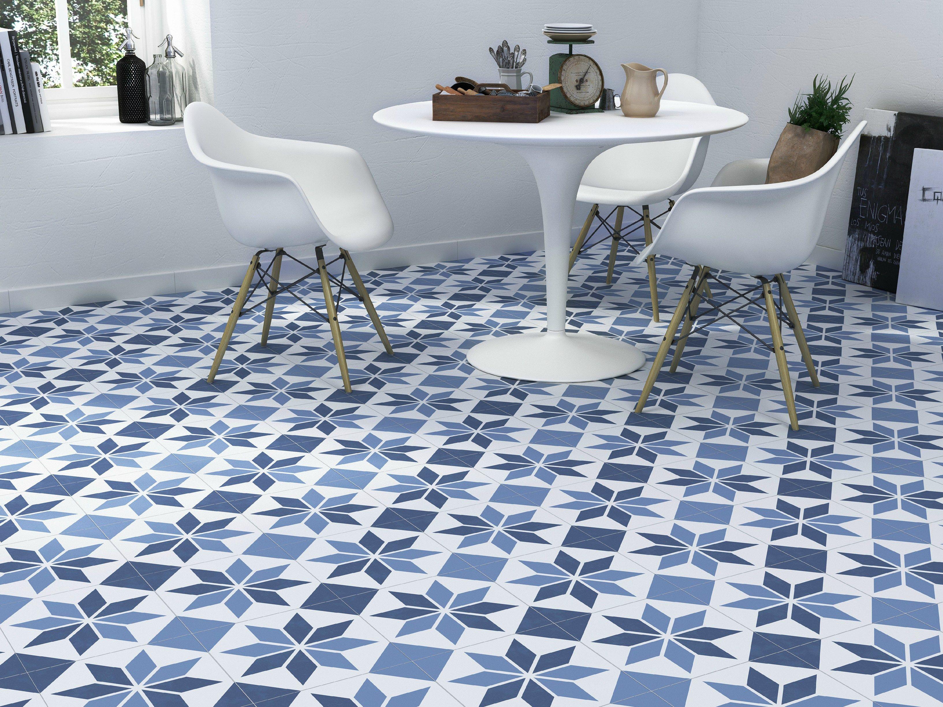 Indoor/outdoor porcelain flooring CAFÉ CEMENT by Grestec Tiles ...