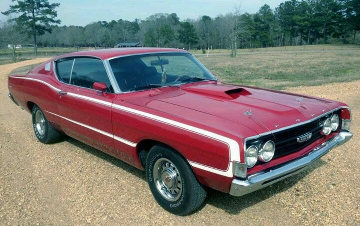 1968 Ford Torino Classic Cars Muscle Old Sports Cars Ford Torino