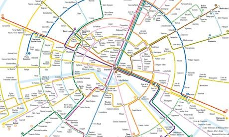 Going Round In Circles The New York Subway Map Redesigned Map