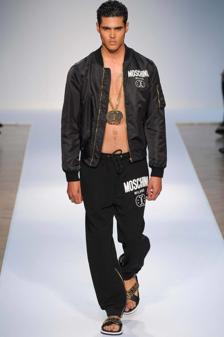 Moschino SpringSummer 2015 Collection - London Collections Men