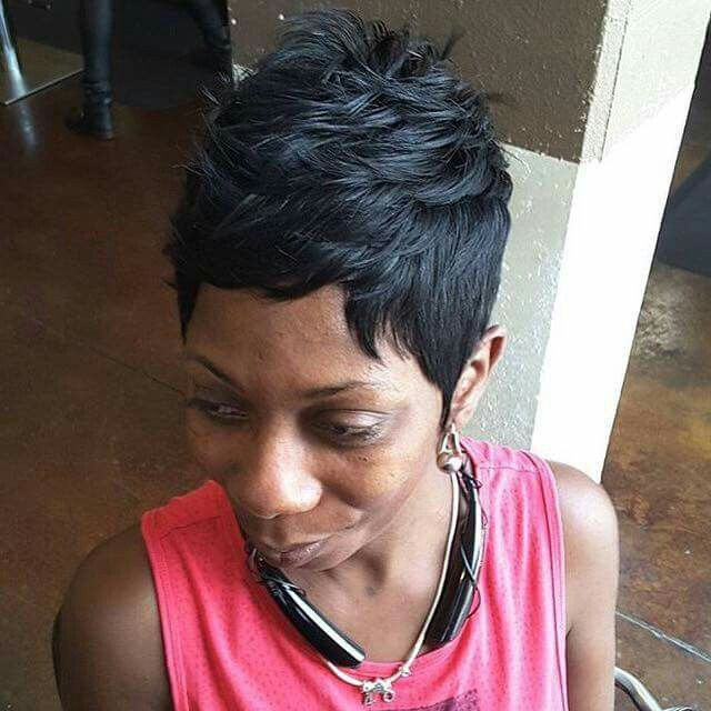 A Pixie From The Ken Baily Hair Salon In Atlanta Georgia Hair Shows Hair Studio Hip Hair