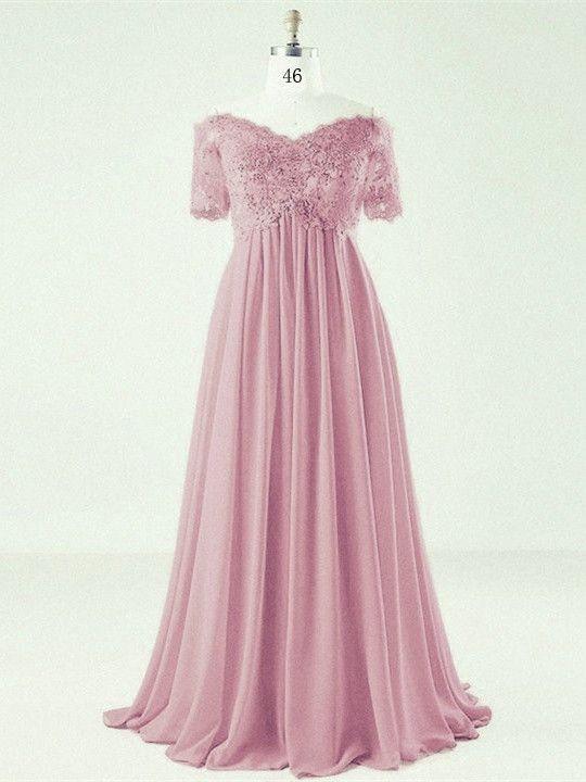 Pin on Ballkleid & Abendkleid Altrosa