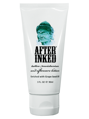 After Inked Daily Tattoo Moisturizer Aftercare Lotion 3oz Lotion Aftercare Moisturizer Cream