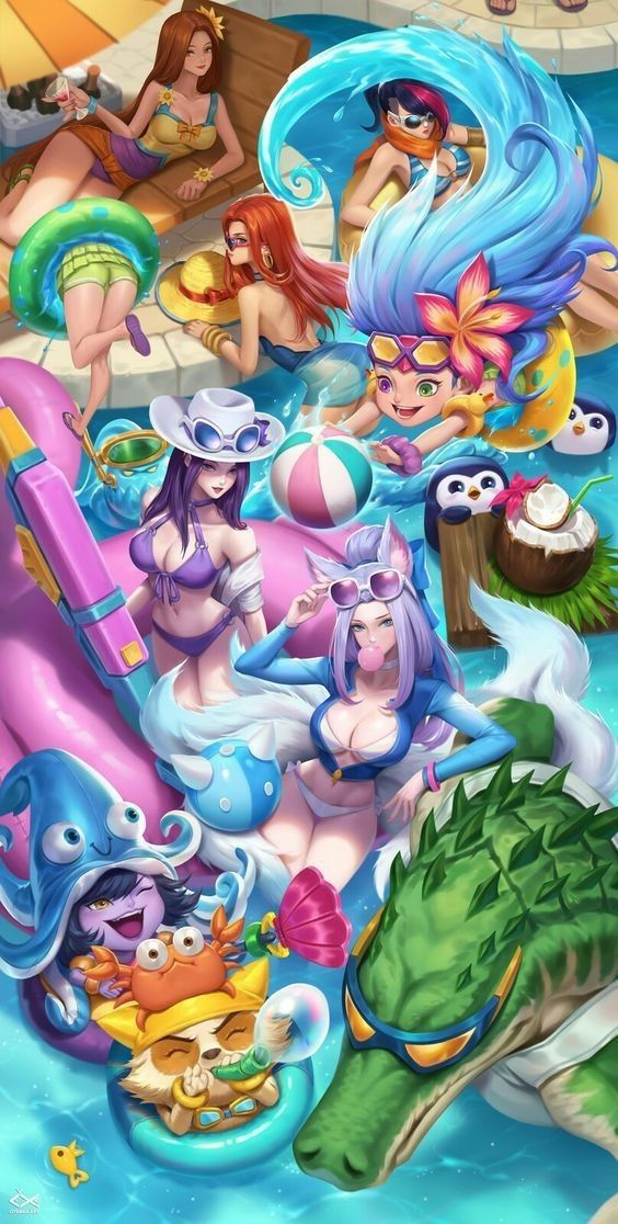 Diseño de Personajes Anime 2020 en 2020 Lol league of