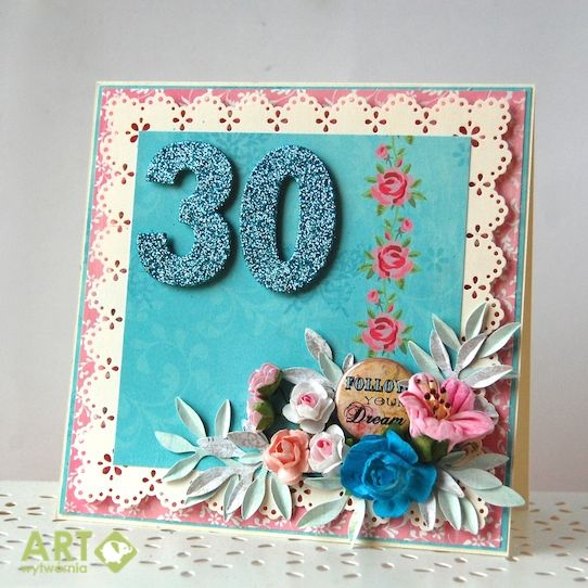 Follo Your Dream Birthday Card Scrapbook
