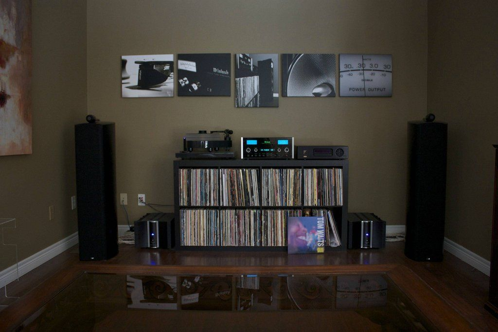 The Beauty Of A Home Music Listening Room On Pinterest