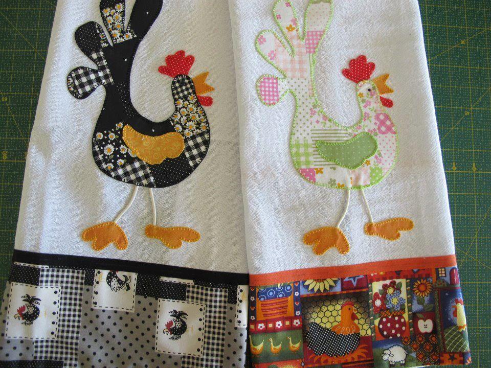 Pano de prato pa os de cocina pinterest patchwork - Patchwork para cocina ...