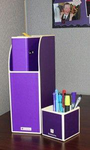 Purple Office Supplies   Urban Girl BlogUrban Girl Blog