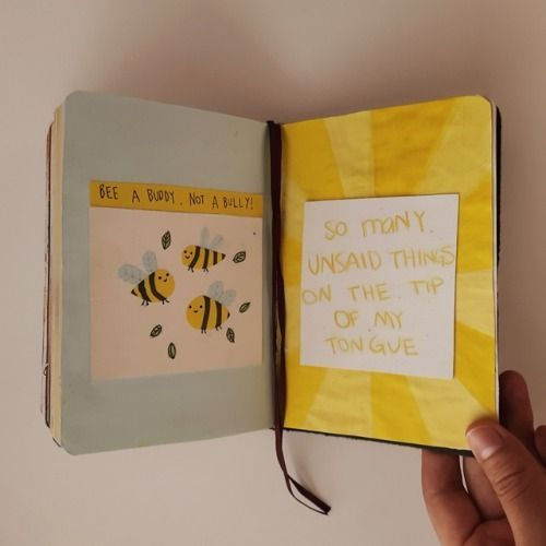 right page credit: @asoftwrongness 🐝 // instagram