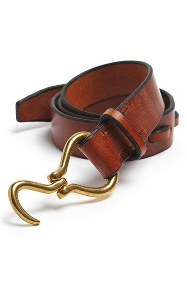Wiley Brothers Leather Belt. A clean 760fe553dee5