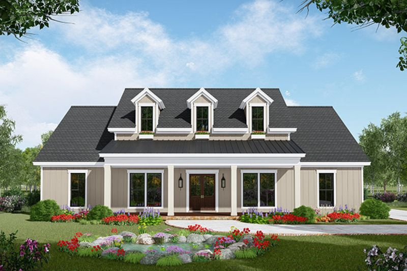 Country Style House Plan 3 Beds 2 5 Baths 2149 Sq Ft Plan 21 445 Farmhouse Style House Modern Farmhouse Plans Ranch House Plans