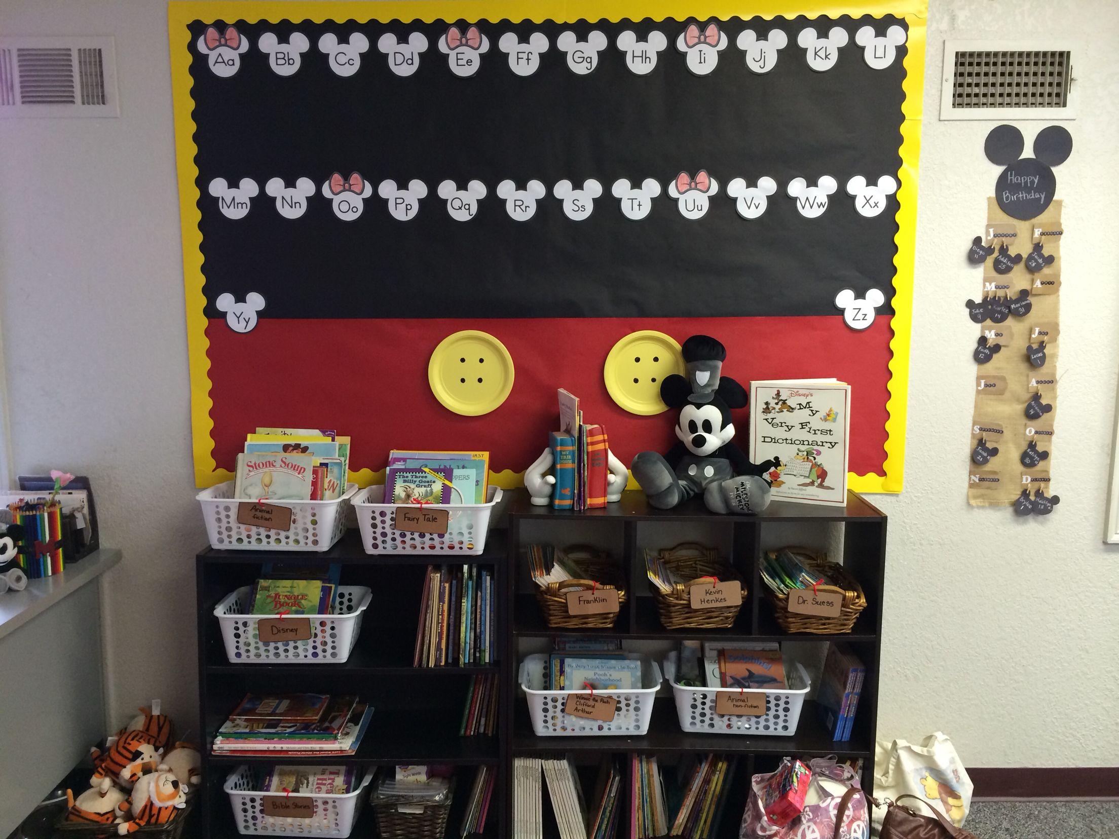 Classroom Decor Mickey Mouse Classroom Theme