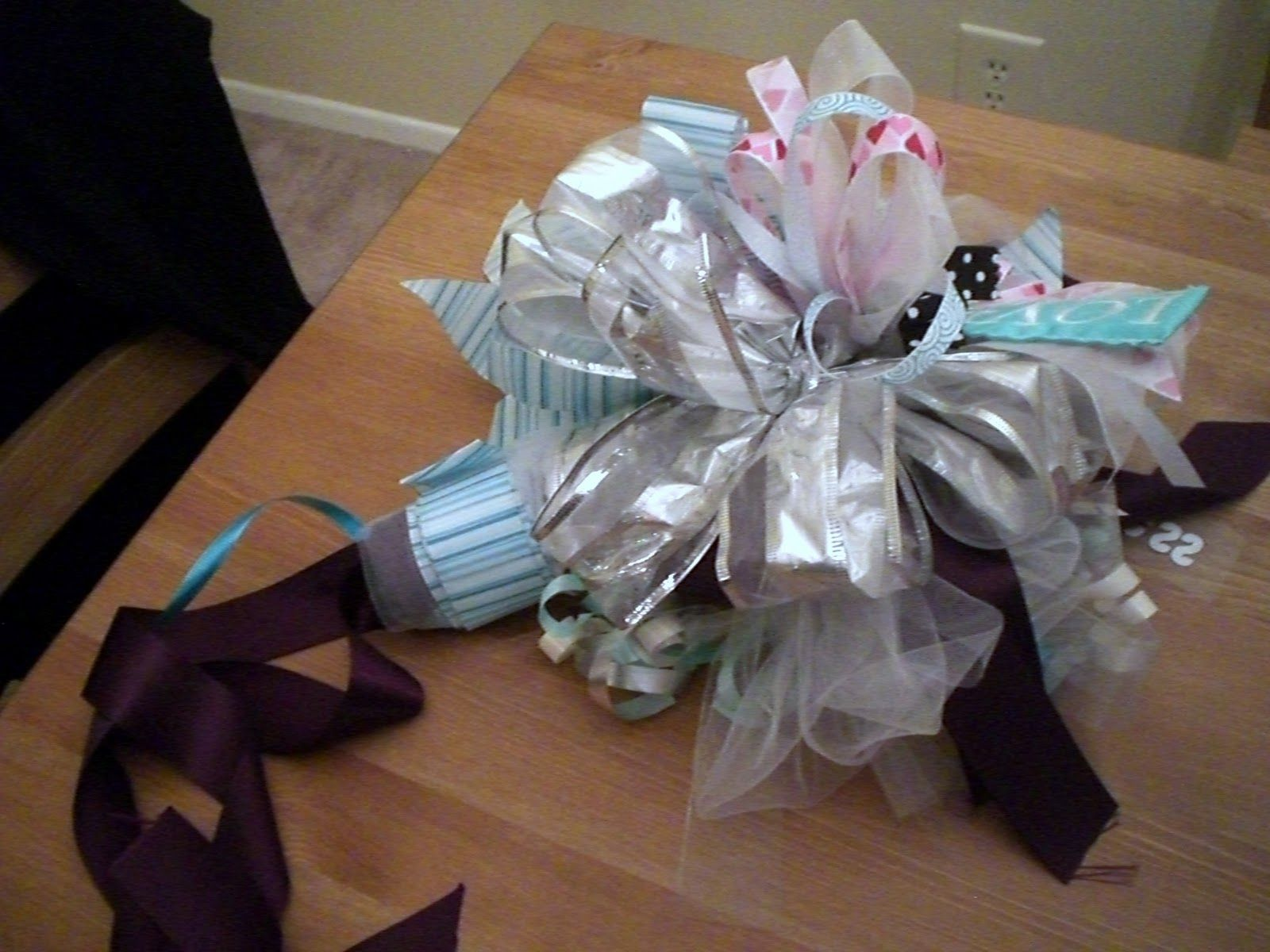 Bow Bouquet, Rehearsal Bouquet